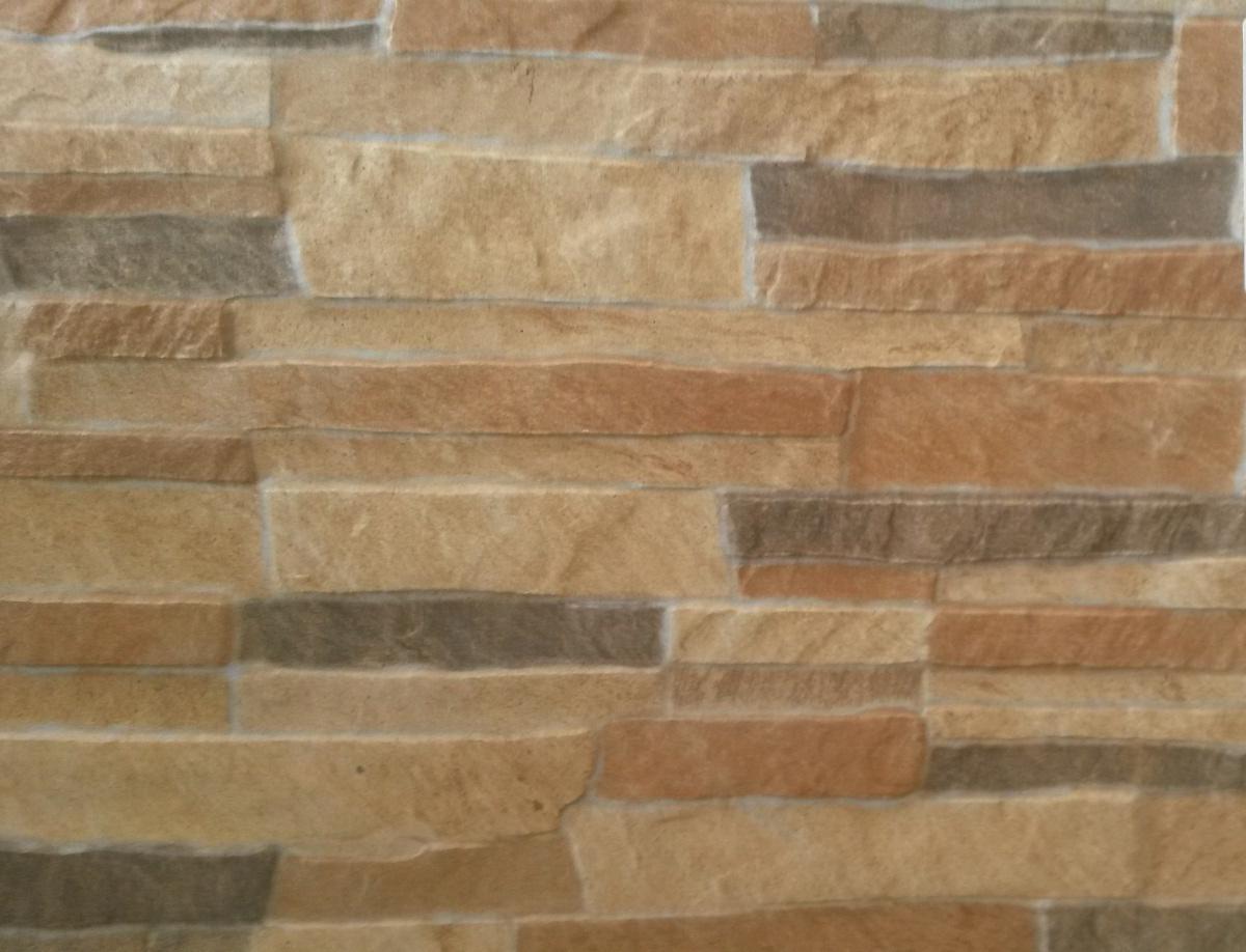 Grey Brown Cladding Look Tile Velvet Moon Stones